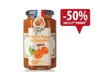 Confiture de fruits bio abricots 300g