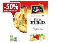Pizza 3 fromages 400g