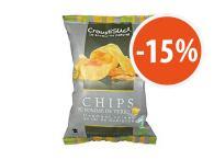 Chips pomme de terre sel de Guérande 100g