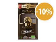 Tablette 100% cacao sans sucre origine Perou