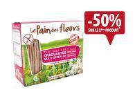 Pain des fleurs Multicéréales 150g