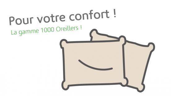 1000 oreillers