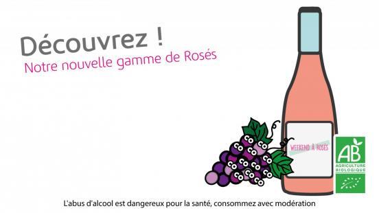 Gamme de Rosés